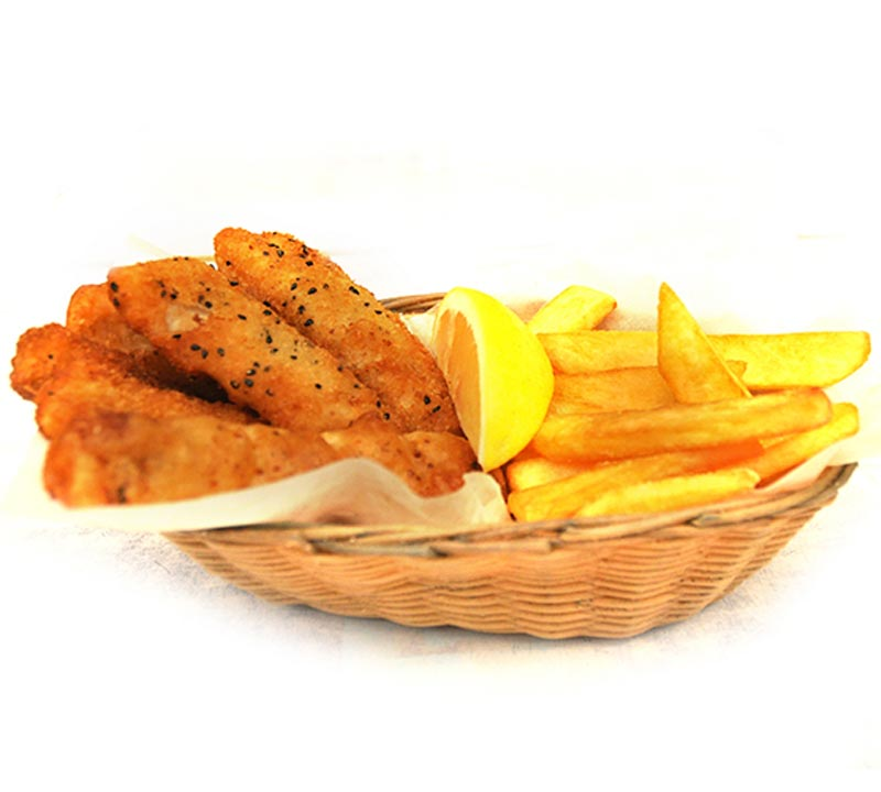Fish'n'chips Cod mix